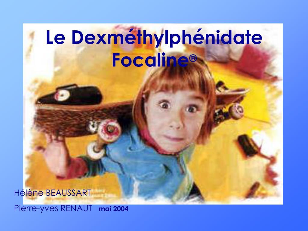 Le Dexméthylphénidate