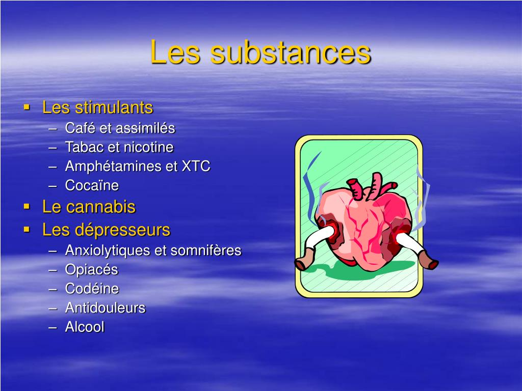Les substances