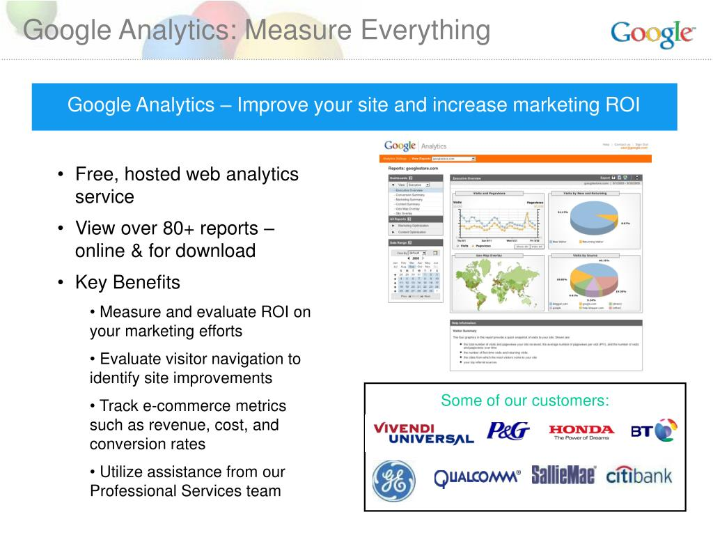 Google Analytics: Measure Everything