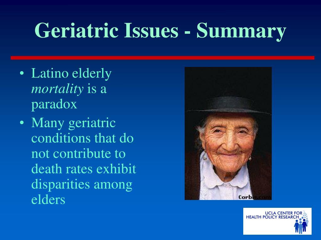 Latino elderly