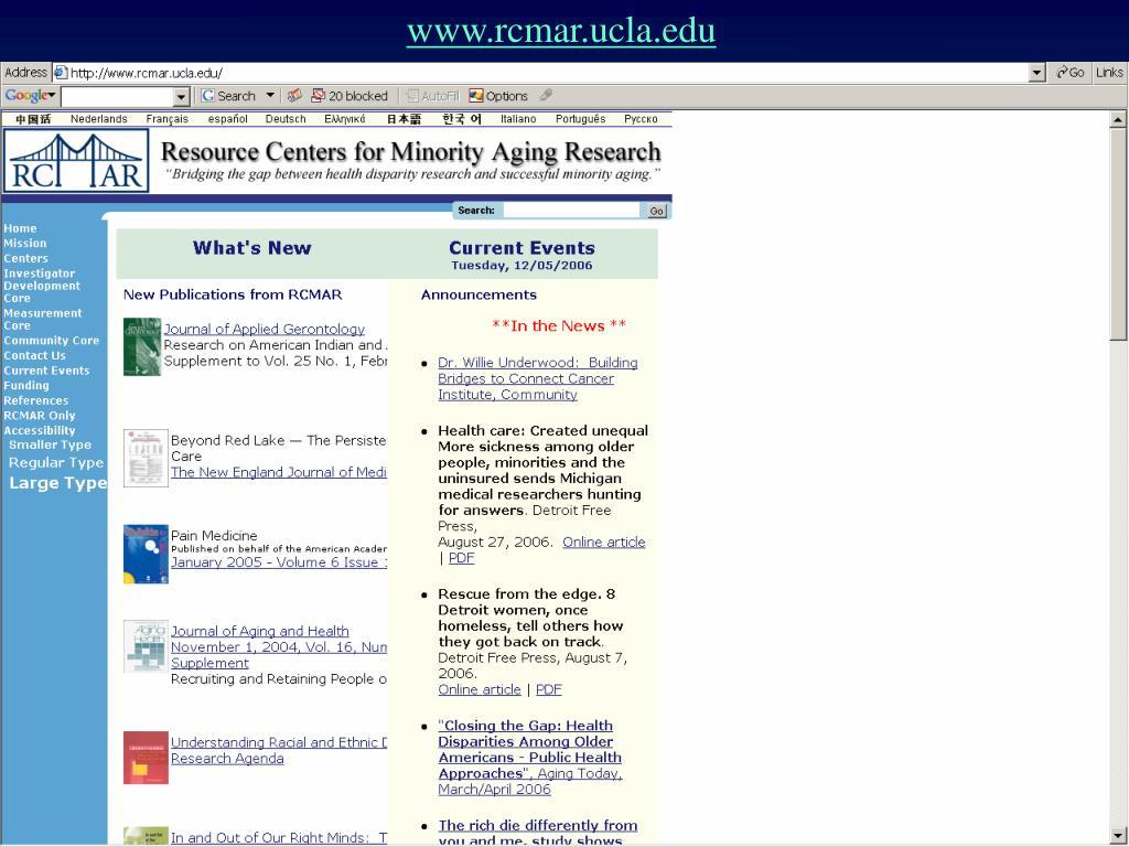 www.rcmar.ucla.edu