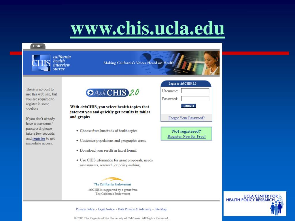 www.chis.ucla.edu
