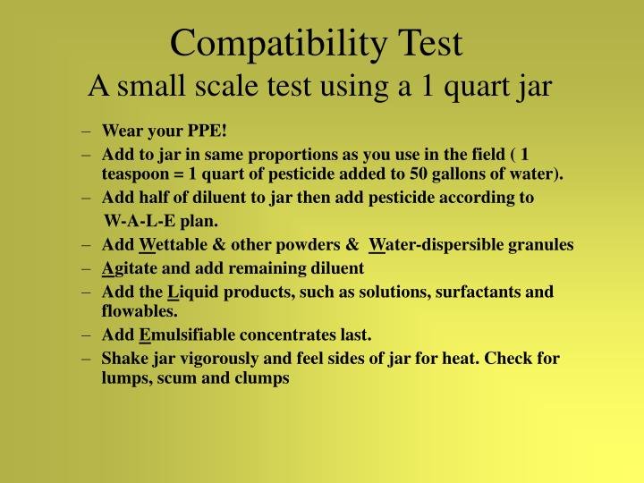 Compatibility Test