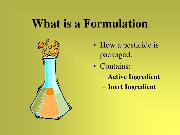 What is a Formulation