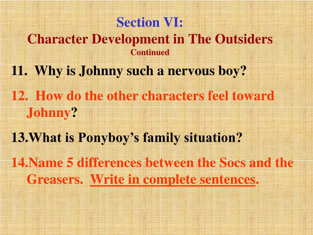 Section VI: