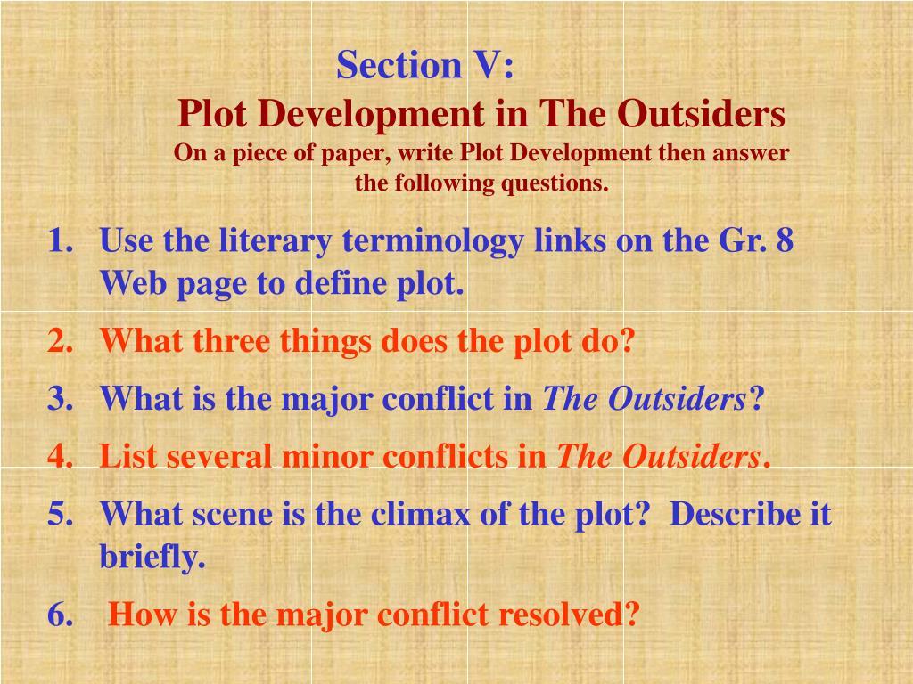 Section V: