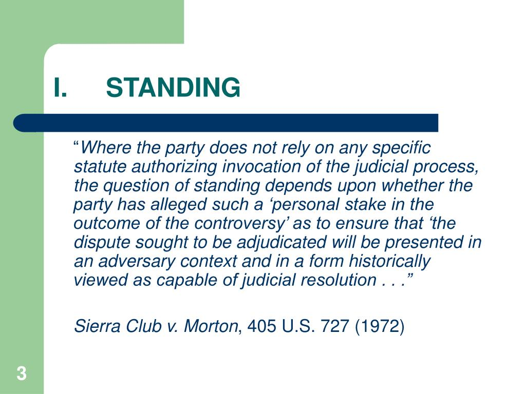 I.STANDING
