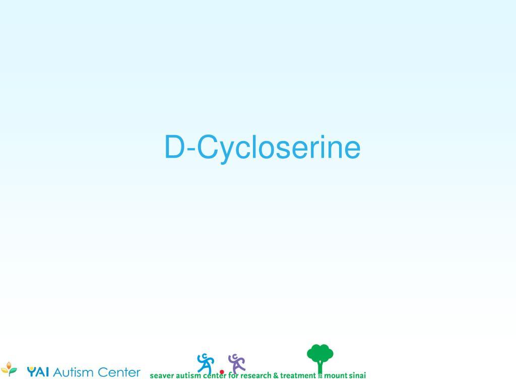 D-Cycloserine