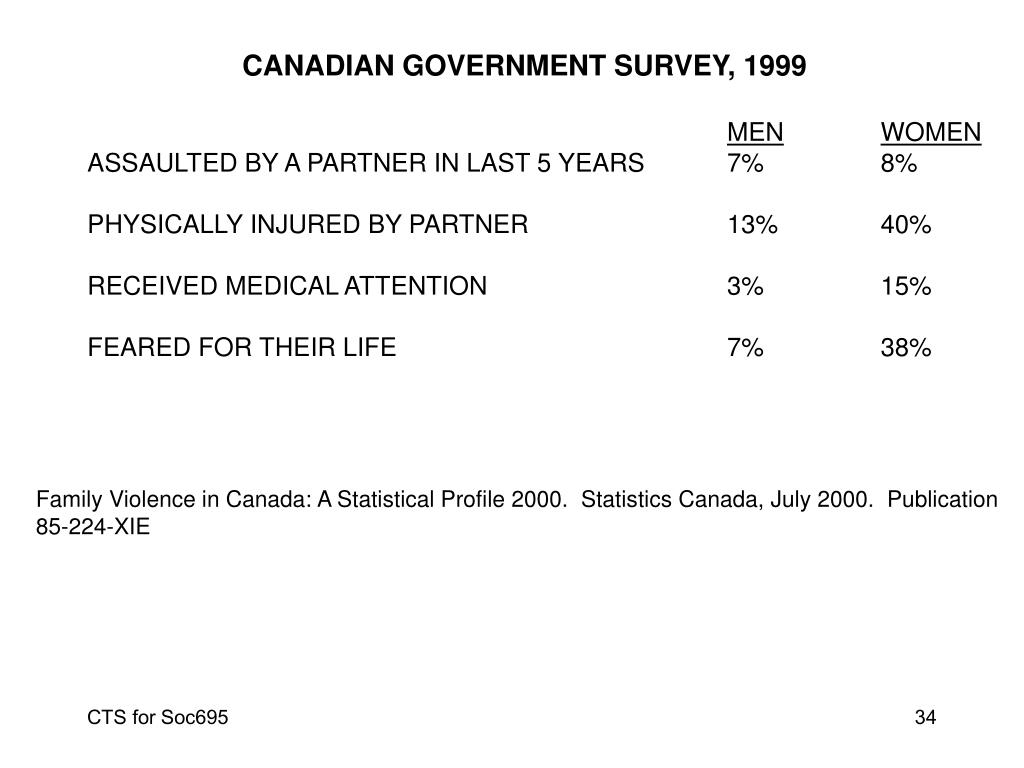 CANADIAN GOVERNMENT SURVEY, 1999