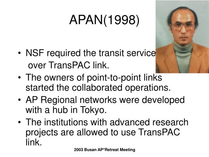 APAN(1998)