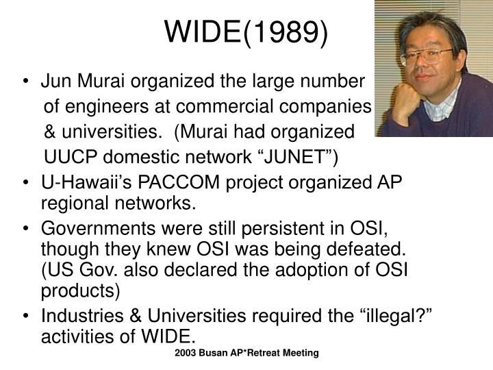 WIDE(1989)