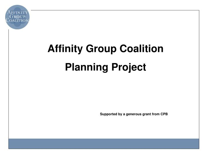 Affinity Group Coalition