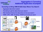 aggregation tunneling additional application examples17