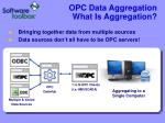 opc data aggregation what is aggregation