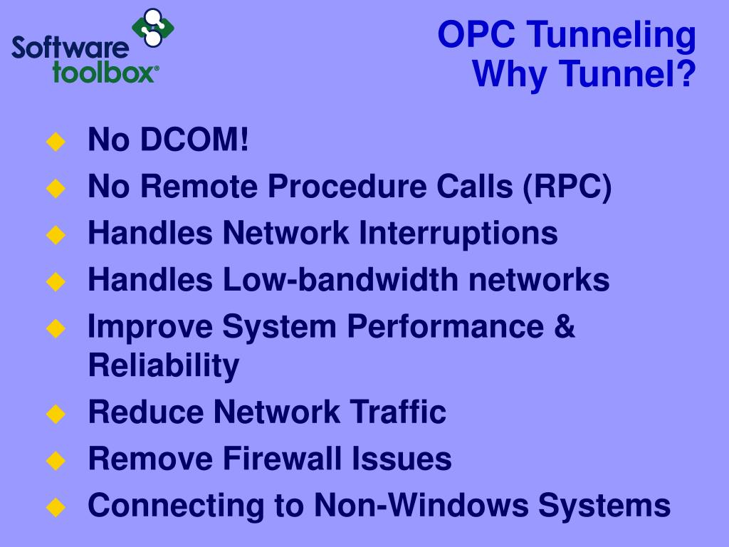 OPC Tunneling