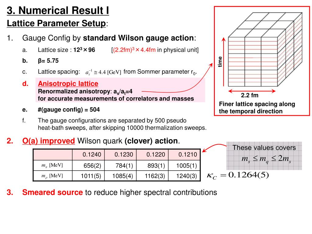 3. Numerical Result I