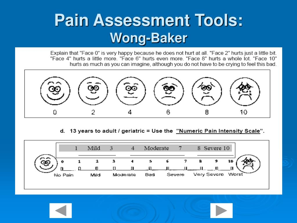 pain assessment On january 1, 2018, the joint commission implemented new and revised pain assessment and management standards for accredited hospitals these standards require the development of policies and procedures that, upon appropriate clinical determination, provide for assessment of pain treatment or referral for treatment and reassessment of pain for patients, as based on patient population and .