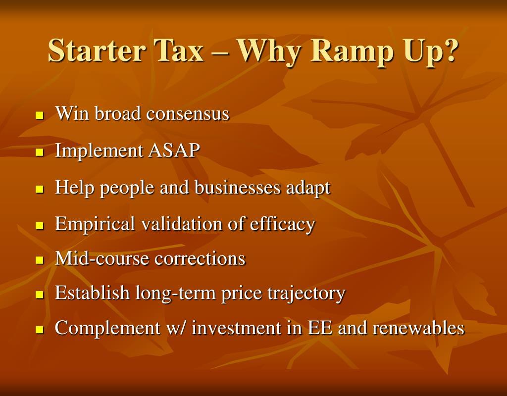 Starter Tax