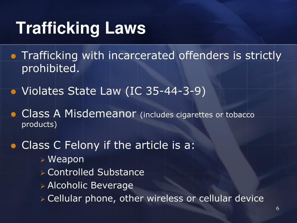Trafficking Laws