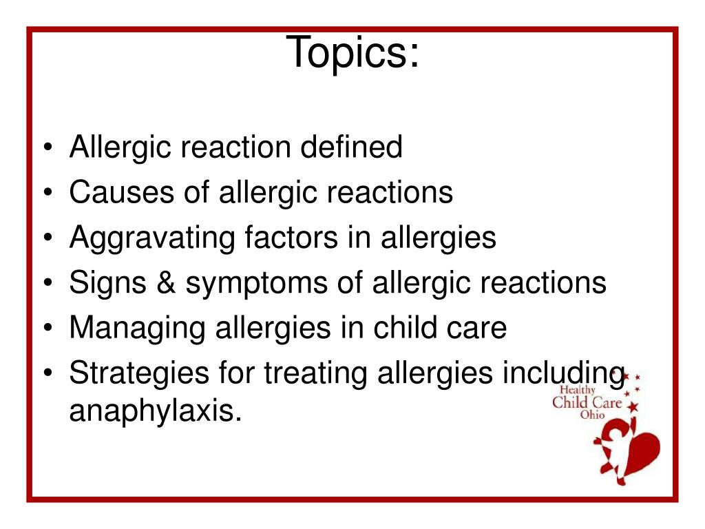 Allergic reaction defined