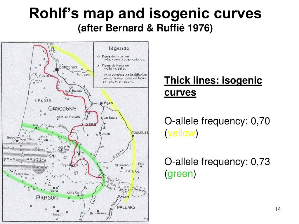 Rohlf's map and isogenic curves