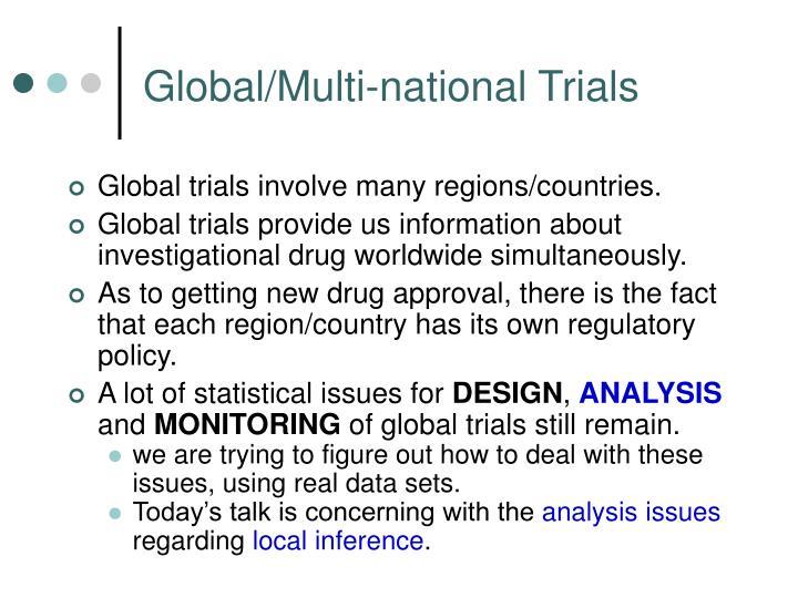 Global/Multi-national Trials