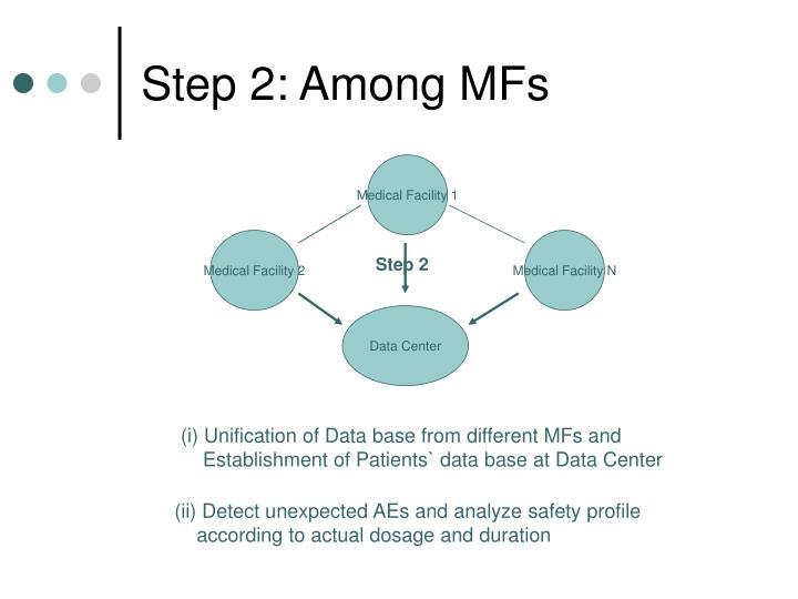 Step 2: Among MFs