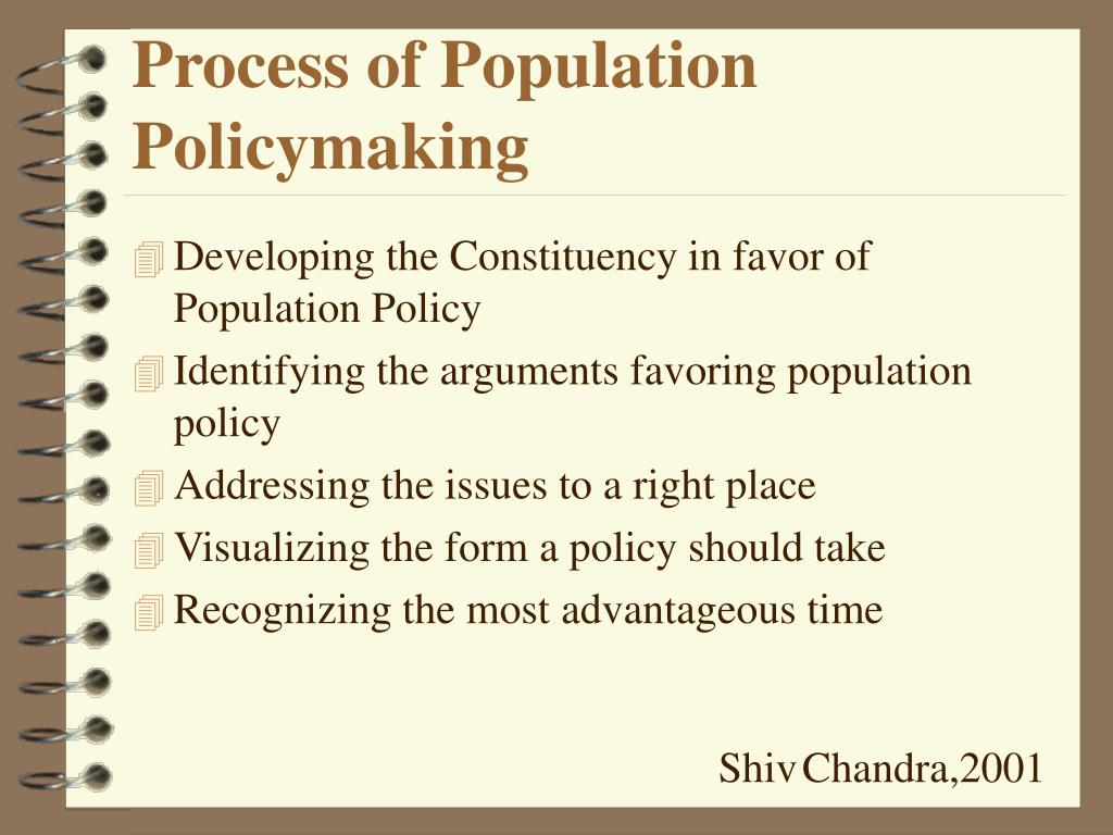 Process of Population Policymaking