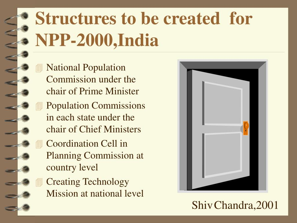 Structures to be created  for NPP-2000,India