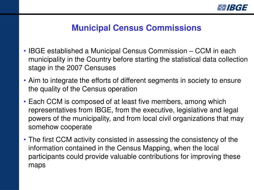 Municipal Census Commissions
