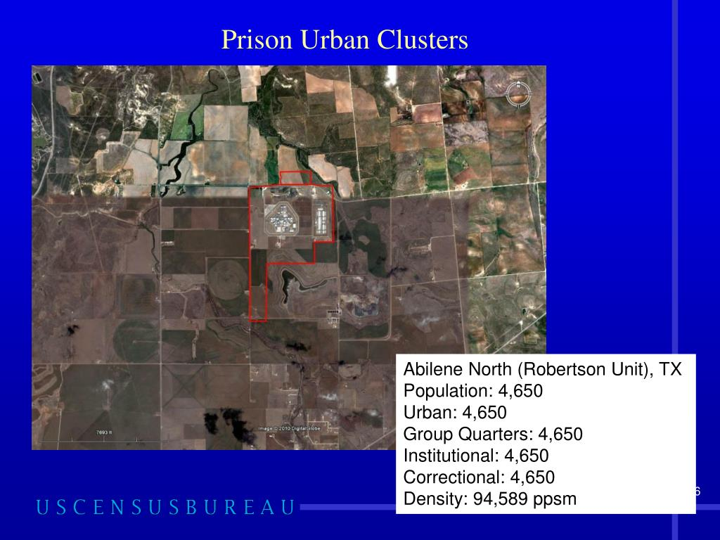 Prison Urban Clusters