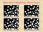 mathematical morphology binary images7
