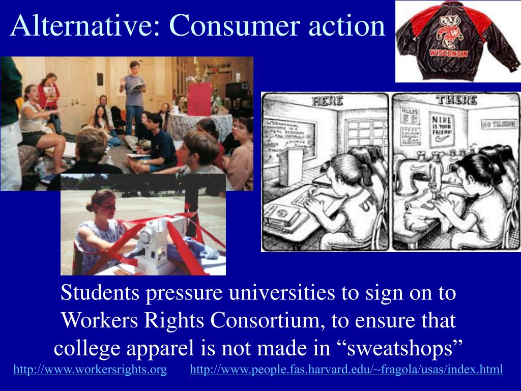 Alternative: Consumer action