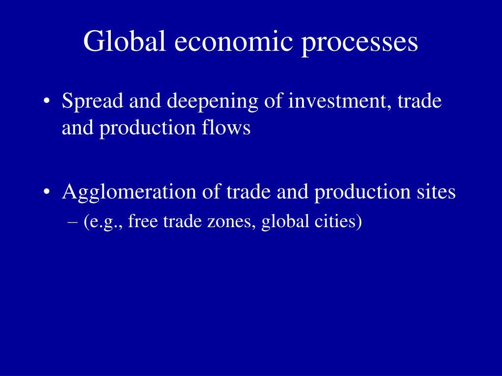 Global economic processes