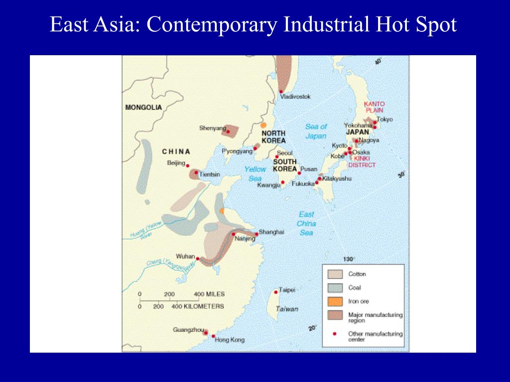 East Asia: Contemporary Industrial Hot Spot