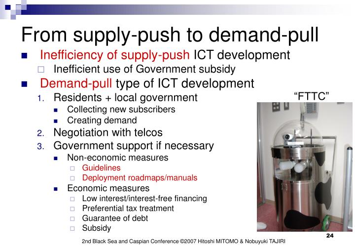 From supply-push to demand-pull