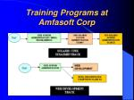 training programs at amfasoft corp17