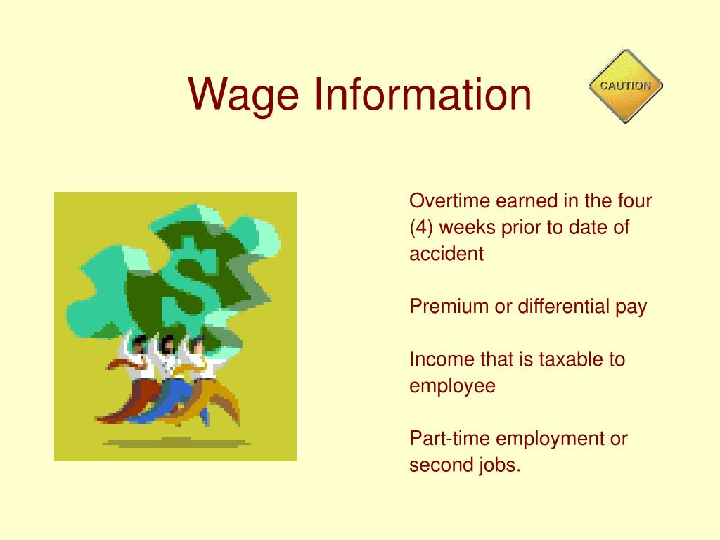 Wage Information