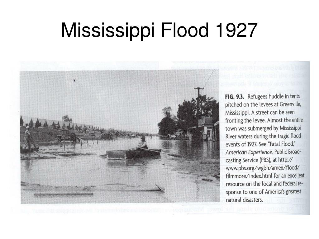 Mississippi Flood 1927