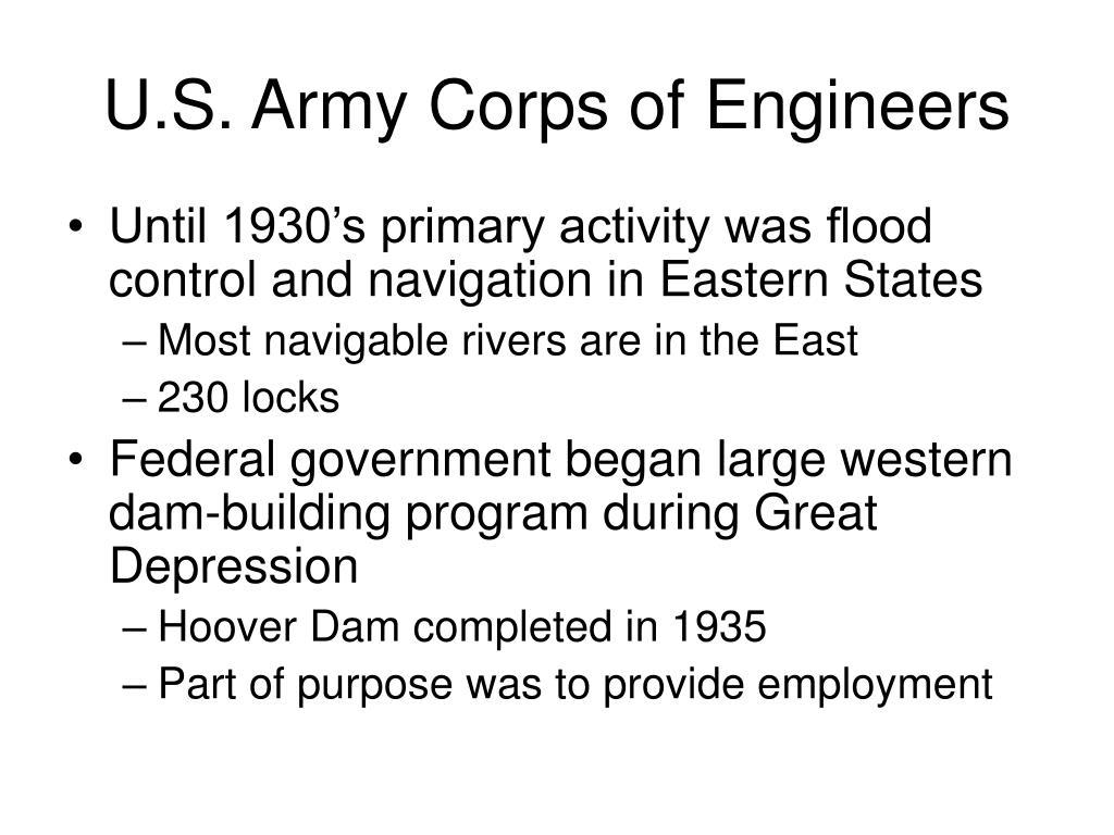 U.S. Army Corps of Engineers