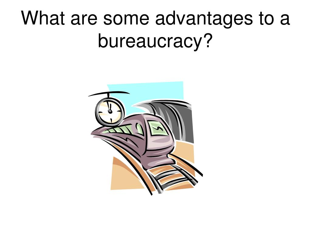 What are some advantages to a bureaucracy?