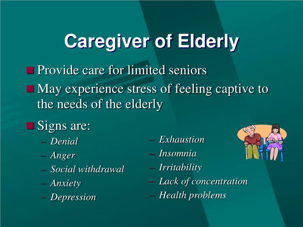 Caregiver of Elderly
