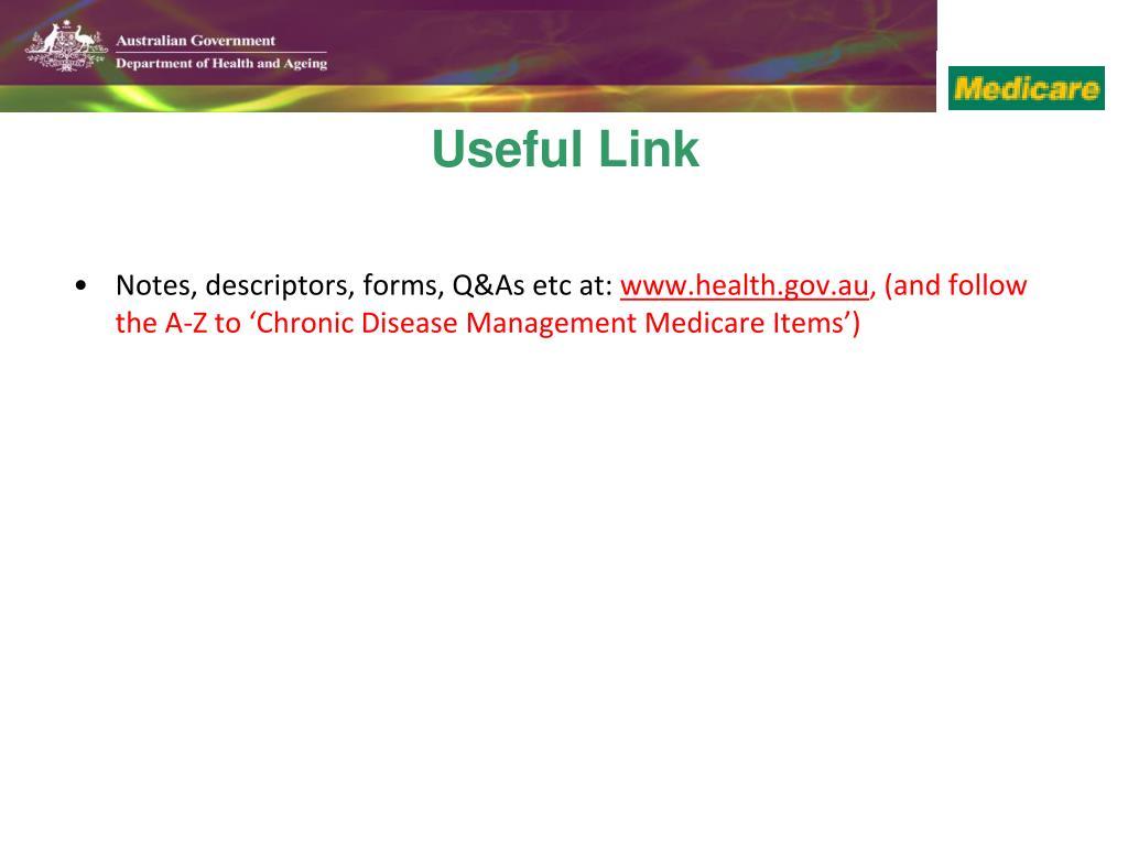 Notes, descriptors, forms, Q&As etc at: