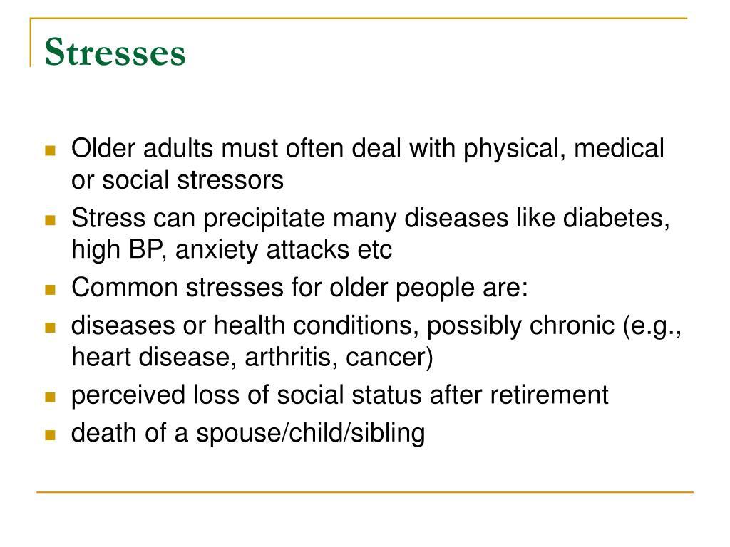 Stresses