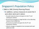 singapore s population policy23