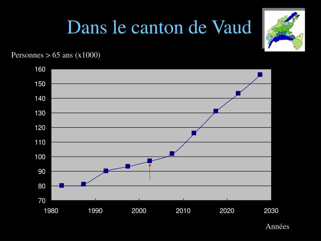 Dans le canton de Vaud