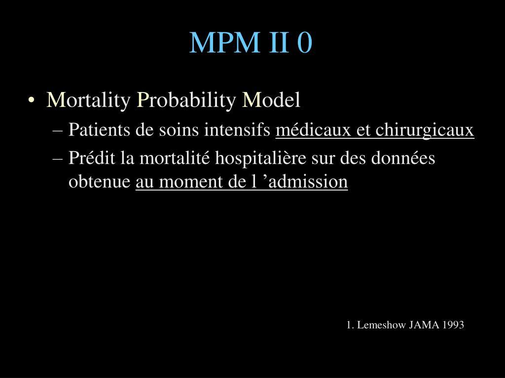 MPM II 0