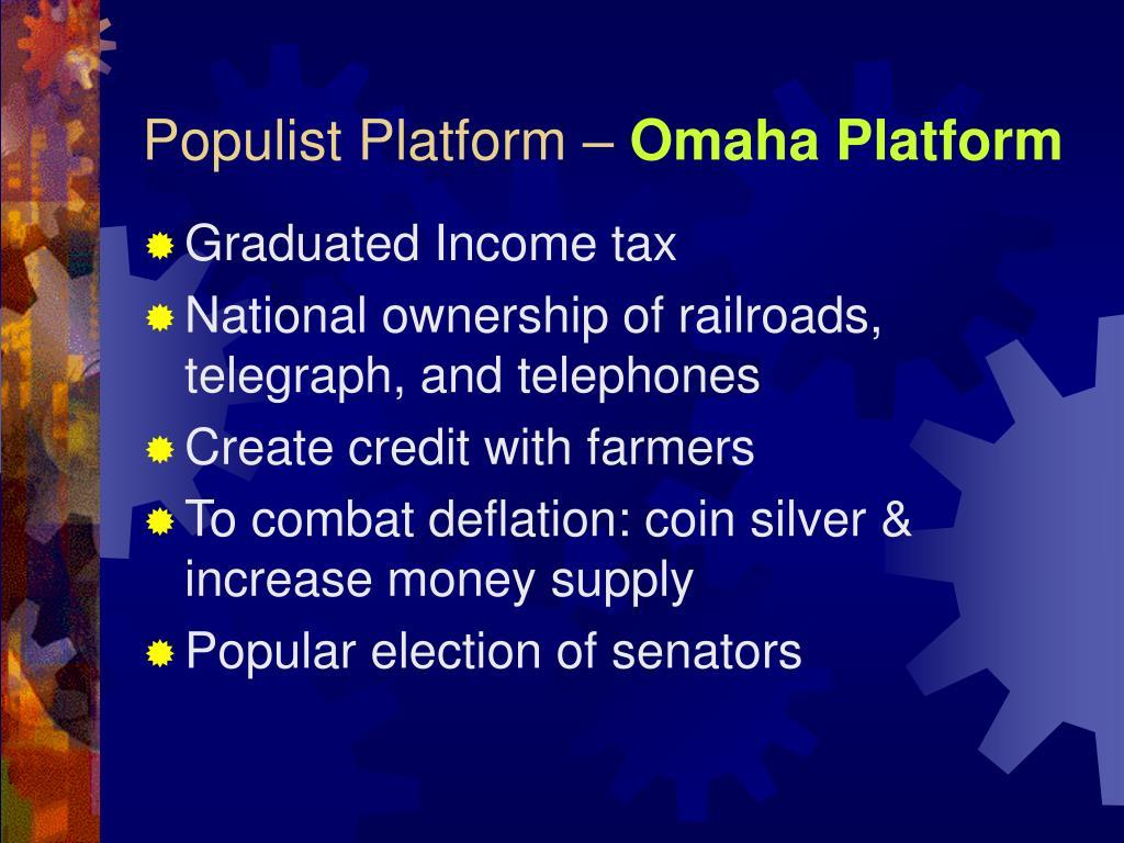populist party platform yahoo dating