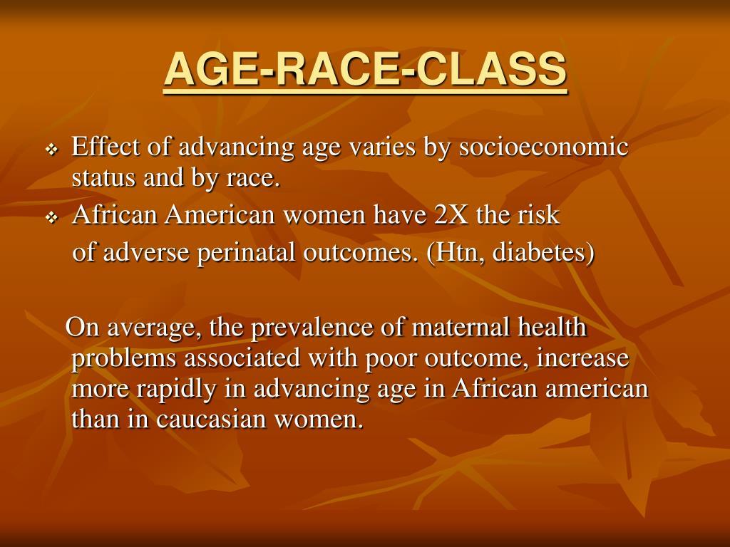 AGE-RACE-CLASS