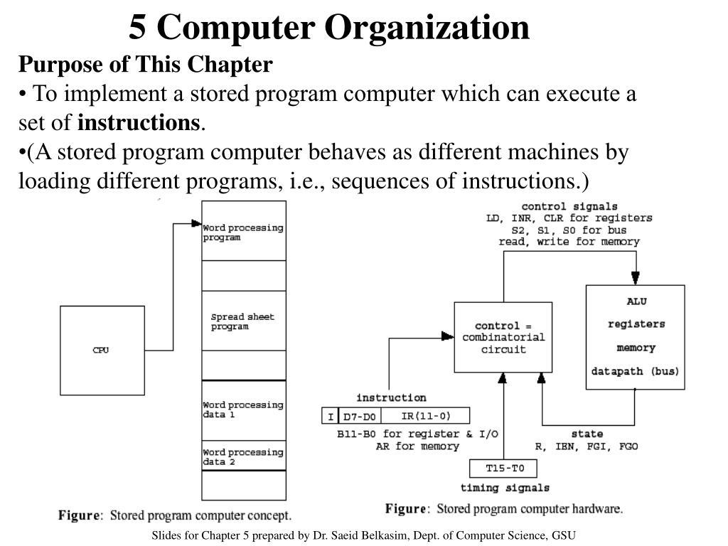 5 Computer Organization